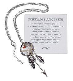 Bohemia Dreamcatcher Pendant Long Feather & Arrow Necklace - SPUNKYsoul Collection SPUNKYsoul http://www.amazon.com/dp/B010P02DC2/ref=cm_sw_r_pi_dp_cNlwwb04DG7Y0