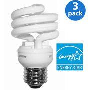 GE Energy Smart CFL Light Bulbs: 13 Watt (60W Equivalent)--Perfect for room makeovers! #GElighting