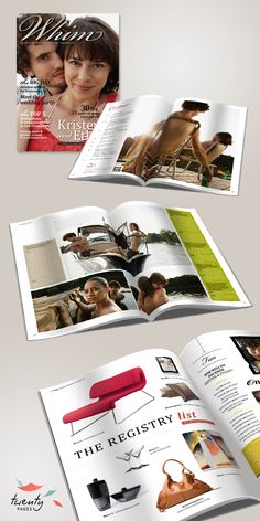 Whim by Twenty Pages  Magazines for your wedding