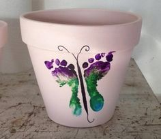 How to Make a Footprint Flower Pot