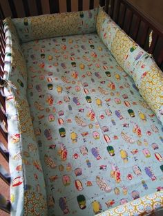 cute baby bedding for a boy or girl :)