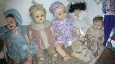Vintage Dolls.. I still have mine.. the 2nd from the left.