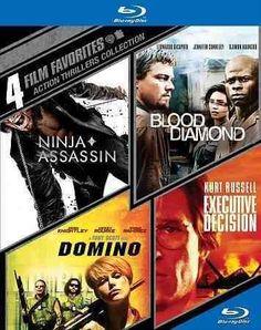 4 Film Favorites: Action Thrillers