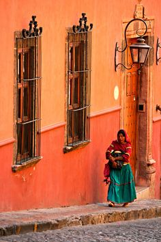 San Miguel de Allende, Mexico - went here for school, so beautiful! Would love to go again and take the family.