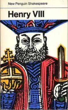 Cover illustration by David Gentleman for 'Henry VIII', 1971 (Penguin)