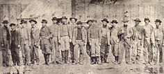 Confederate prisoners at Point Lookout, Maryland, ca. April and May 1865. Army of Northern Virginia (Miller's Photographic History of the Civil War)