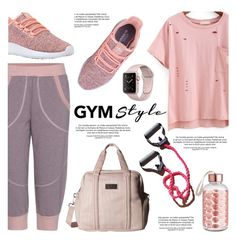"""""""Work It Out: Gym Essentials"""" by helenevlacho ❤ liked on Polyvore featuring adidas, contestentry and gymessentials"""