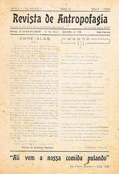 Revista de Antropofagia, São Paulo, ano 1, n.1