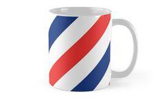 Barber Shop Stripes Mug
