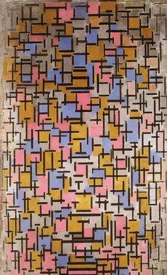 Piet Mondrian. Composition 1916, oil, 1916 - Google Search