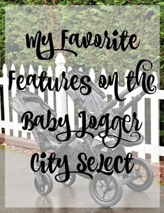The Baby Jogger City Select has so many awesome features. It can be a single OR a double without getting a new stroller! [ad]