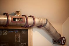 Funny pictures about 25 Awesome Furniture Design Ideas For Crazy Cat People. Oh, and cool pics about 25 Awesome Furniture Design Ideas For Crazy Cat People. Also, 25 Awesome Furniture Design Ideas For Crazy Cat People photos. Gato Steampunk, Steampunk House, Pet Furniture, Furniture Design, Furniture Ideas, Industrial Homes, Steampunk Furniture, Industrial Interiors, Pets