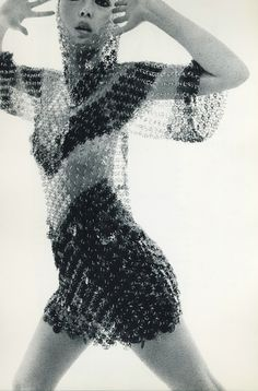 From Jean Clemmer's collaboration photobook, Nues, with Paco Rabanne, 1969.