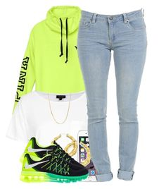 """101215"" by polyvoreitems5 ❤ liked on Polyvore featuring Topshop, NIKE and Giani Bernini"