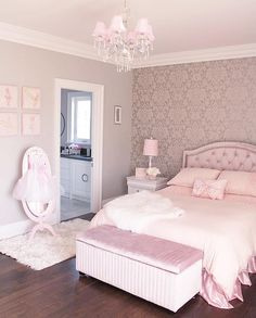 56 the basic facts of bedroom ideas for teen girls dream rooms teenagers girly 20 - Zimmergestaltung - Bedroom Decor Cute Bedroom Ideas, Cute Room Decor, Girl Bedroom Designs, Bedroom Girls, Design Bedroom, Teen Bedrooms, Girl Rooms, Bedroom Colors, Purple Bedroom Decor