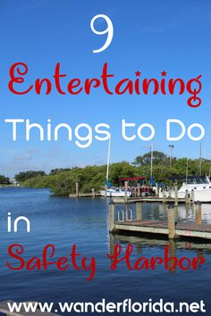Safety Harbor is a small town on Florida's west coast in the Tampa Bay area. As an arts-driven, waterfront town, these 9 things to do in Safety Harbor provide something to delight everyone.