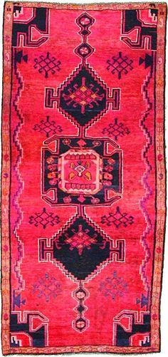 Pink Hamedan Area Rug