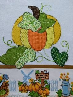 Patch Aplique, Santa Maria, Holiday Crafts, Quilting, Dish Towels, Kitchen Kit, Tricot Crochet, Beautiful Things, Make Art