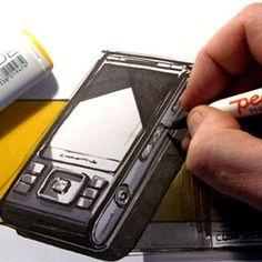 #phone #cellular #industrialdesign by fantasiland.dk