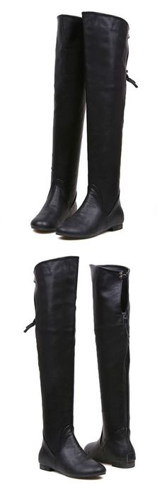 Over the knee boots. Perfect for the winter season.