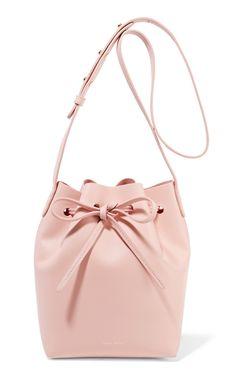 Blush Pink Mansur Gavriel Bucket Bag