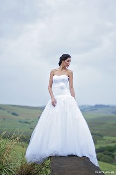 South Africa Wedding Dress Designer Carita Adams Adorn 2015 Bridal Collection    #southafrica #weddingdressdesigners