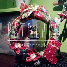 #Christmas Patchwork #Handmade / #Natal