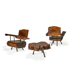 Lot:SABENA Table and two lounge chairs, Lot Number:997, Starting Bid:$1200…