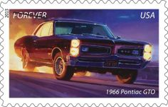 best postage stamp toown | ... American Muscle Cars live on Forever (stamps) - Kelley Blue Book