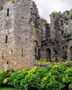 Bolton Castle, perfect marriage of ruins, castle and gardens in Yorkshire.
