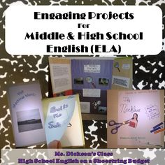 english project ideas for highschool students