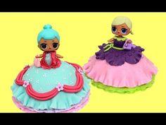 (1137) LOL Dolls Mini Cakes   How To Make a LOL Doll Mini Cake - YouTube