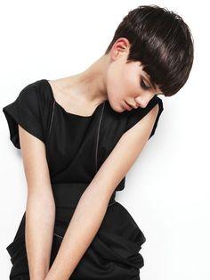 cortes de cabello nuca corta para mujeres 2015 - Buscar con Google