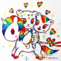 Love wins, always! Repost from @simonelegno! ❤️ #marriage #America #art #sketch #original #palette #unicorno #tokidoki #kawaii #equality #freedom #lovewins