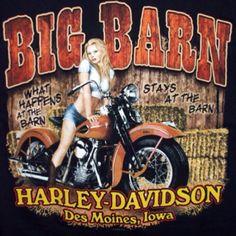 That's where I got my Harley.