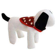 Bandana para Cachorro Dupla Face Poá Vermelho Dog & Home - MeuAmigoPet.com.br #petshop #cachorro #cão #meuamigopet