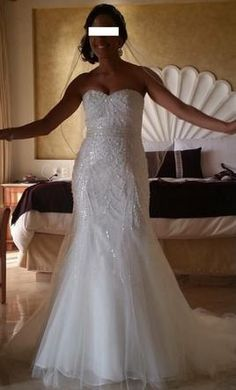 Pronovias Babia 6: buy this dress for a fraction of the salon price on PreOwnedWeddingDresses.com