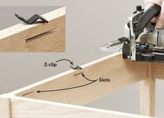 12 ways to get the best from your biscuit joiner | Page 10 | WOOD Magazine Used Woodworking Tools, Woodworking Projects, Wood Joining, Biscuit Joiner, Wood Jig, Wood Magazine, Making Faces, Built In Cabinets, Wood Working For Beginners
