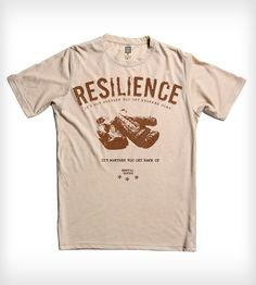 Resilience T-Shirt | Men's Clothing | Arquebus Clothing | Scoutmob Shoppe | Product Detail