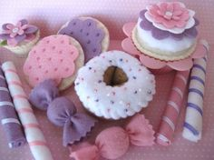 Spring Clean SALE  Sewn Sweets Sampler Set by smollerup on Etsy, $15.00
