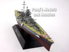 Battleship Bismarck 1/1100 Scale Diecast Metal Model Ship by Eaglemoss