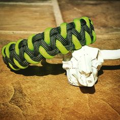 OD Green & Neon Green Paracord Bracelet by UltimateAdventureCo