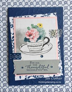 Thinking Stamping - SU - Floral Phrases