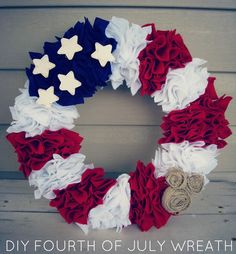 Pretty Patriotic Wreath!
