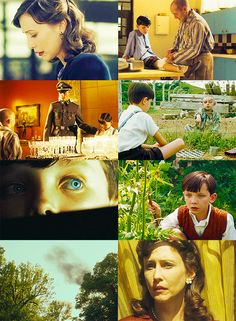 The Boy In The Striped Pajamas! So sad... it has taught me a lot...