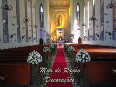 Mar de Rosas Decorações Lindolfo Soares: Cerimônias/Igrejas/Templos