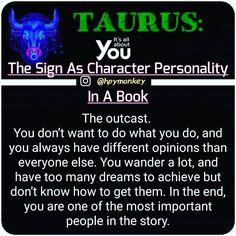 Zodiac Sign and Their Key Phrase: . 🇫 🇴 🇱 🇱 🇴 🇼 Hpymonkey for more! tag a friend! Taurus Sun Sign, Aries Taurus Cusp, Taurus Traits, Zodiac Signs Taurus, Taurus Woman, Horoscope Signs, My Zodiac Sign, Horoscopes, Aquarius