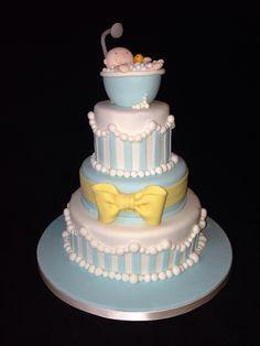 Baby shower cake #fantasticake