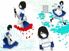 incomplete doodles by CNeko-chan Character Art, Character Design, Alice Mare, Alice Liddell, Alice Madness Returns, Fandom Crossover, Undertale Fanart, Manga Drawing, Anime Outfits