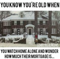 Hahaha! That Home Alone house is GORGEOUS!